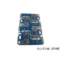 Wholesale Blue Solder Mask Multilayer PCB Board For Impedance Communication Equipment from china suppliers