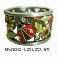 Wholesale Ladybird napkin ring KEAC0343 from china suppliers