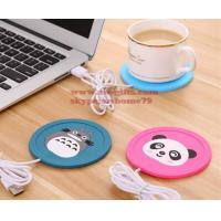 Buy cheap New Cartoon 5V USB Warmer Silicone Heat Heater for Milk Tea Coffee Mug Hot Drinks Beverage Cup Mat Pad best gift from wholesalers