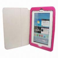 Wholesale Leather Case for iPad Mini, Made of Leather and Velvet from china suppliers