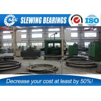 High Precision Slewing Ring Bearing Gear / Rings Quenching Heat Treatment