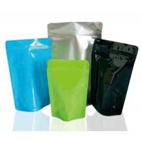 Buy cheap Food Packaging Ziplock Stand Up Pouches Eco - Friendly Printed Stand Up Pouches product