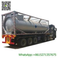 Buy cheap 30ft Mobile LPG Gas Tank Container Gas Filling Station 30000L  LPG Gas Refilling Skid Plant Station from wholesalers