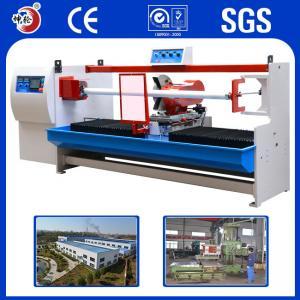 Aluminum Foil Laminated BOPP Tape Cutting Machine For PET , CPP , CPE , PE Manufactures