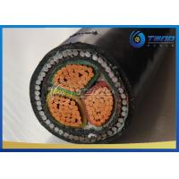 Buy cheap 3 Cores / 4 Cores LV Power Cable Steel Wire Armour SWA Cable XLPE Insulation from wholesalers