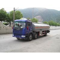 Buy cheap JAC Mobile Refueling Oil Tank Truck 6x2 , Fule Oil Delivery Trucks 20000L from wholesalers