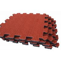 Buy cheap outdoor kid playground rubber flooring from wholesalers