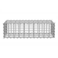 Buy cheap Welded Gabion Cage Retaining Wall Lowes Gabion Stone Baskets Silver Color from wholesalers