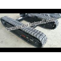 Buy cheap drill rig rubber track undercarriage /mini rubber chassis/ rubber crawler undercarriage/ crawler track undercarriage from wholesalers