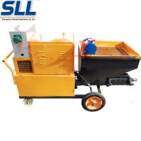Buy cheap High Efficiency Mortar Spraying Machine Automatic Plastering Machine For product