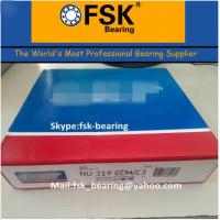 Buy cheap Double Row Cylindrical Roller Bearing NU319 ECM Brass Cage product