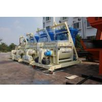 Wholesale 1000L High Rigidity Twin Shaft JS1000 Concrete Mixer Machine CE / ISO90001 Approval from china suppliers