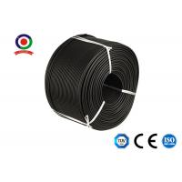 Buy cheap 10mm2 Copper Single Core Solar Panel Cable Wire Strong Flexibility For Solar System from wholesalers