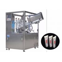 Buy cheap 25-250 ml Cosmetic Filling Machine / Automatic Tube Filling And Sealing Machine from wholesalers