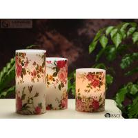 Buy cheap Rose Decorative Flickering Flameless Led Candles Dia 3 x H 4 from wholesalers