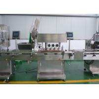 High Speed Automatic Packaging Machine Automatic Capping Machine For Screw Type Pharma Bottle Manufactures