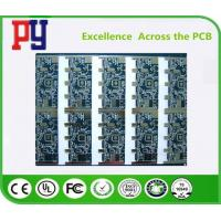 Buy cheap Lead Free Multilayer PCB Circuit Board Custom Blue Solder Mask Fr4 Base Material from wholesalers