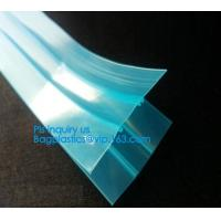 Buy cheap plastic flange zipper without teeth, PP/PE/PVC/EVA Plastic Flange Zipper For Pouch, PP/PE/PVC/EVA Plastic Flange Zipper from wholesalers