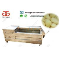 Buy cheap Electric Potato Peeling Machine High Efficiency Commercial Use /Automati Potato Peeling Machine Price In India from wholesalers