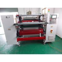 Buy cheap Thermal paper slitting and rewinding machine , Log roll slitting machine from wholesalers