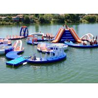 Buy cheap Commercial Outdoor Sea Inflatable Water Parks For Sport Games Fire Resistance from wholesalers