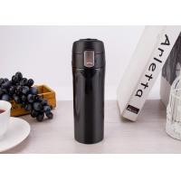 350ml keep warm or cold stainless steel double wall vacuum insulated travel mug with suction function