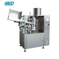 Buy cheap Plastic Tube Filling And Sealing Machine , Automatic Tube Filler And Sealer product