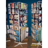 Buy cheap Spinning  Magazine Display Racks office magazine stand, brochure holder Display Bookshelf from wholesalers