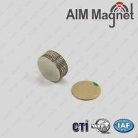 Buy cheap Competitive Prices Highest Grade N52 Neodymium Magnet 1/8  x 0.1 from wholesalers
