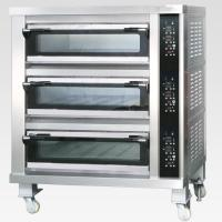 Buy cheap 3 Decks 12 Trays Electric Baking Oven With Automatic Temperature Control from wholesalers
