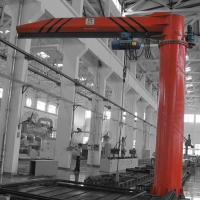 Buy cheap M5 Workshop Electric Hoist Jib Crane With Remote Control from wholesalers