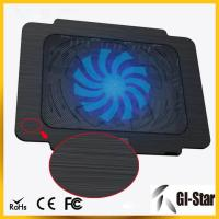 Buy cheap Hot sell and good price laptop cooling pad with single fan from wholesalers