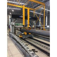 Buy cheap Gantry Positioning H Beam Assembly Machine For Pole Lamp Post Flange Fitting / Welding from wholesalers