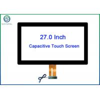 Buy cheap 27 Inch PCAP Projected Capacitive Touch Panel Kit / PCT Sensor Bonded With Cover Glass from wholesalers