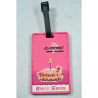 Buy cheap Personalized Pvc. rubber, silicone, plastic luggage bag tags accessories from wholesalers