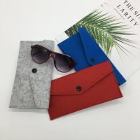Wholesale custom microfiber sunglasses pouches or glasses bag holder.size:9cm*18cm. 2mm microfiber. from china suppliers