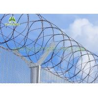 Buy cheap 316 Stainless Steel 450mm Coil Concertina Razor Barbed Wire BTO-22 from wholesalers