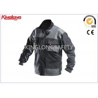 Buy cheap Cool Comfortbable Waterproof Canvas Workwear / Work Jacket 260gsm from wholesalers