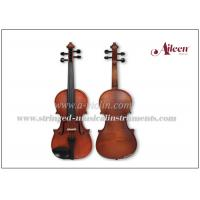 Buy cheap Solid Straight Grain Conservatory Spruce Top Flamed Maple Wood Violin from wholesalers
