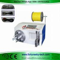 Buy cheap Automatic Zip Lock Ties Cable Coiler Wire Tyer Wire Coiling Cable Zip Ties Wire Tying Machine from wholesalers