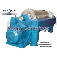China 2 - Phase Manure Dewater Mud Decanter Centrifuge For Poultry Industry on sale