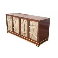 Quality Antique Hotel Room Dresser 5 Star Hotel MDF Board With Recessed Back Panel for sale