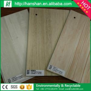 Buy cheap Modern Luxury antislip fireproof plastic wood plank flooring/ pvc flooring plank from wholesalers