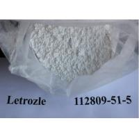 Buy cheap Raw Steroids Powder Letrazole / Femara CAS 112809-51-5 Anti Estrogen Health Steroid from wholesalers