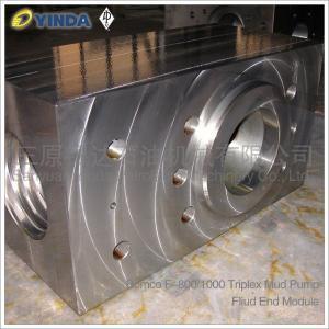 Wholesale AH100101050100 Triplex Mud Pump Fluid End Module AH33001-05.01A.00 Bomco F-800/1000 from china suppliers