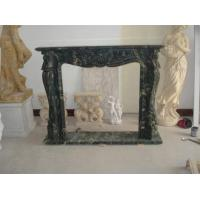 Buy cheap Black Marble Fireplaces statue product