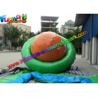 Buy cheap Plato 0.9mm Vinyl Inflatable Water Sport Toys Commercial Strong Water Saturns from wholesalers