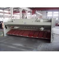 Buy cheap Pneumatic plate hydraulic guillotine shearing machine , sheet metal cutting from wholesalers