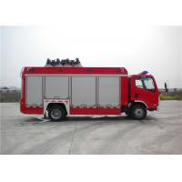 Quality 8 Ton 2 KW Light Fire Truck Wireless Controlling With Auxiliary Lighting for sale