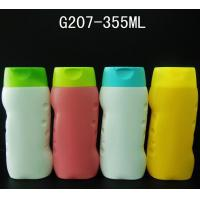 China 2015 New design children shampoo bottle, 355ml Lotion Bottle, PE bottle with flip top cap on sale